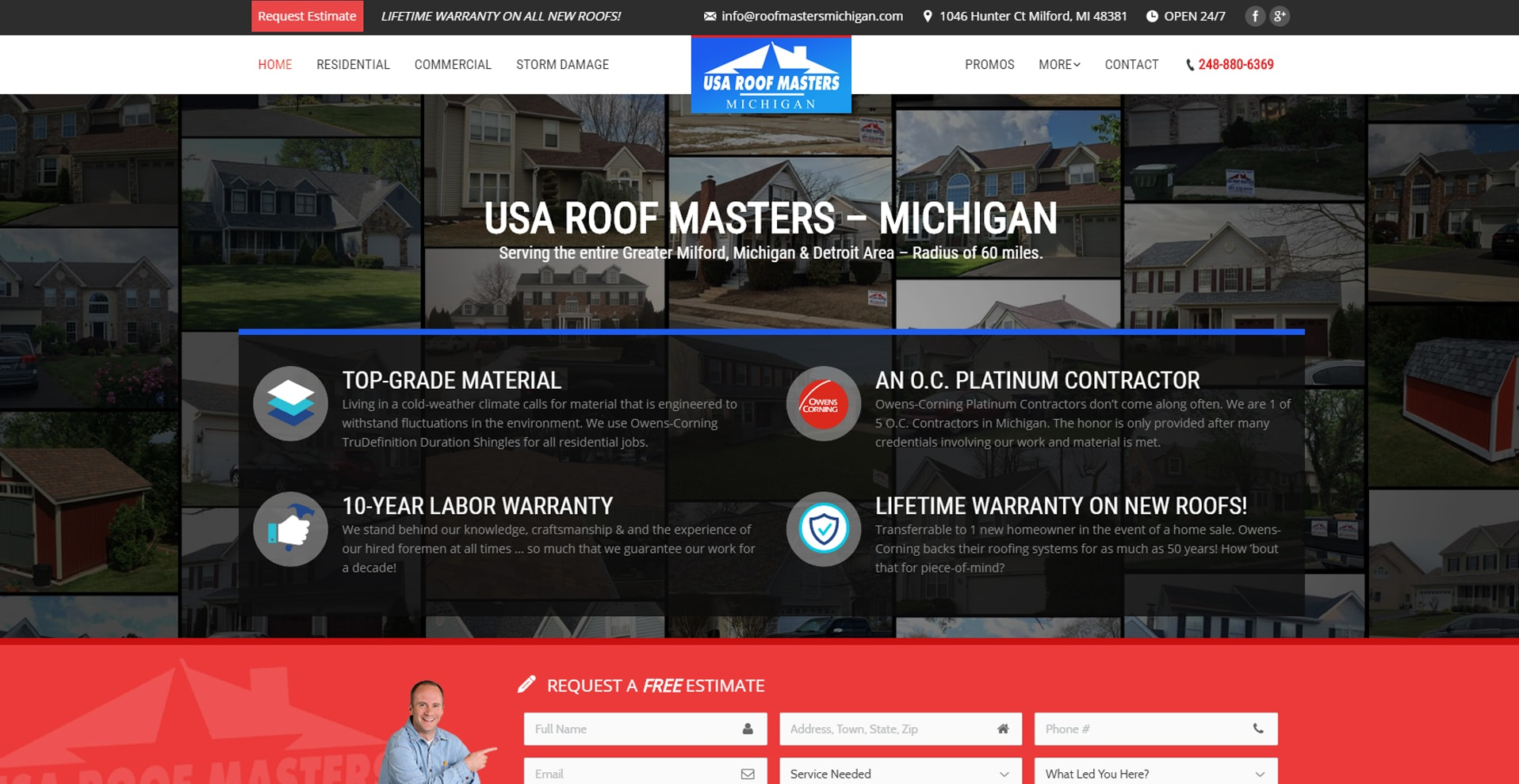 Roof Masters Michigan